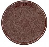5 Риштанский Ляган плоский коричневый