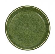 6 Риштанский Ляган плоский зеленый