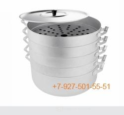 Мант1304 Мантоварка 13 литров - 4 яруса