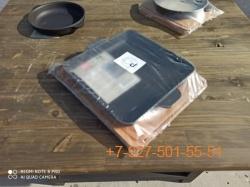 Ск-18001 Сковорода 18*18см чугунная на дерев.подставке