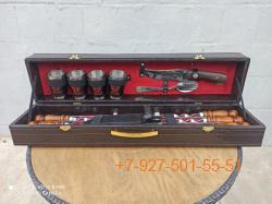 """ШН-0012-П Шашлычный набор """"Чайный"""" 15 предметов"""