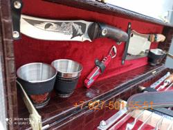 ШН-0018-П Шашлычный набор №4 Кизляр 17 предмета