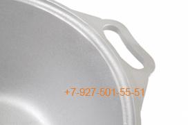 Ал-0406 Кастрюля-жаровня 4л. Алюминий с крышкой, Kukmara