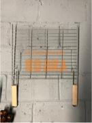 ШПС-0035 Барбекю большое для установки на мангал 50 см на 40 см