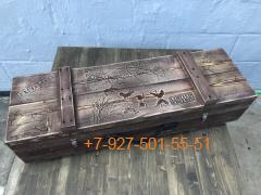 """ШН-0001 Шашлычный набор """"Сокол"""", в деревянном ящике"""