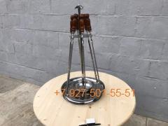ШН-0501-П Шашлычный набор на подносе 6 шампуров