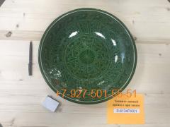 Л-6138С/001-005 38см. Ляган зеленый (карандаш)