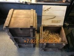 008 Ящик подарочный (состаренное дерево) - без гравировки