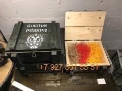005 Наполнитель (Крафт) в ящик подарочный  - цвета в ассортименте