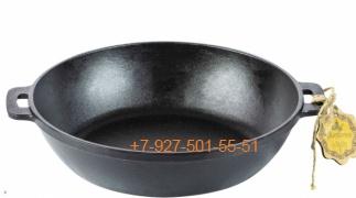 Т102 Жаровня чугунная литая 24*6 см Maysternya