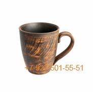 ПГ-400/296543 Чашка 400мл керамика красная глина гладкая