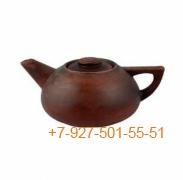 ПГ-001/295406 Чайник заварочный 1л красная глина гладкий