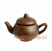 ПГ-003/295405 Чайник заварочный 300мл красная глина гладкий