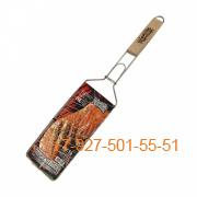 ШПС-0101-218737 Решетка для барбекю РЫБА нерж, 620*280*120мм