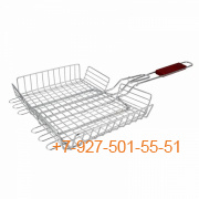 ШПС-0103-245229 Решетка для барбекю глубокая 600*320*250*50мм SM-76